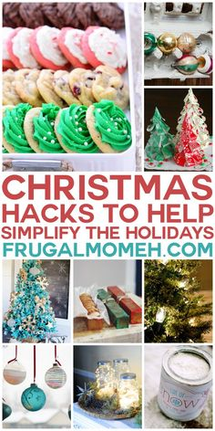Christmas Hacks to Simplify the Holidays. These life hacks are the most brilliant diy home hacks for your kitchen and beyond over the Holiday season.