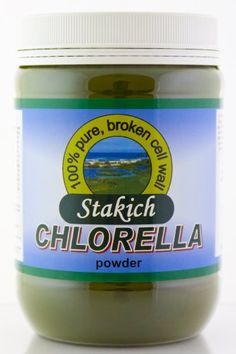 Stakich CHLORELLA POWDER 1 LB - 100% Pure, Top Quality. Stakich Chlorella is 100% pure with NO binders, additives, or fillers. Our distinctive method of breaking down the cell walls allows the increase absorption of its vital nutrients which has a digestibility rate of more than 80%, and provides a significant amount of readily available chlorophyll. Organically Produced, Top Quality. Chlorella is a subspecies of Chlorella vulgaris, a single-celled, fresh water algae.