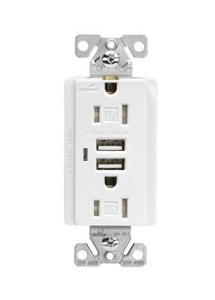 Cooper Wiring Devices TR7745W-BOX  Combination USB Charger with Tamper Resistant Receptacle and Box, 15-Amp, White Finish Cooper Wiring Devices,http://www.amazon.com/dp/B00B1GHC58/ref=cm_sw_r_pi_dp_l1KXsb1JXA9HSHRE