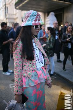 They Are Wearing: London Fashion Week Spring 2013