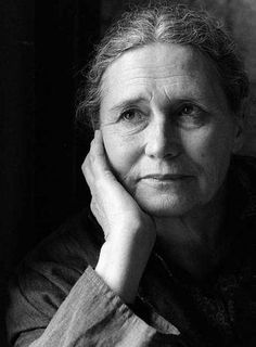 Doris Lessing, great author and winner of The Nobel Prize in Literature.