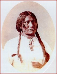 Chief Bigfoot was very ill and near death at the Massacre at Wounded Knee. He was helped out of his tepee to  listen to Col Forsyth. In a short while, after the gunfire started, he was shot dead.