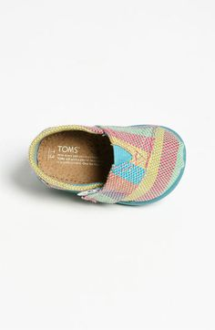 TOMS 'Classic - Tiny' Plaid Slip-On (Baby, Walker & Toddler) | Nordstrom