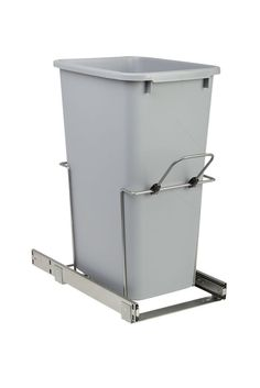 21 Qt Large Open Wastebasket Classy Real Simple® 30Liter Pullout Trash Can  Our Farmhouse Decorating Design