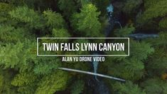 Twin Falls Lynn Canyon Drone Video by Alan Yu With A Cliff Jumper Bridges And Waterfall 4K  Drone video At Twin Falls in Lynn Canyon by Alan Yu in 4K. A capture of the waterfalls and bridge as well as a surprising seeing someone cliff jumping.  Subscribe: https://ift.tt/2uoheze  Connect With Me  Website: http://www.alanjhyu.com Twitter: http://www.twitter.com/alanyu Facebook: https://ift.tt/2I4H4KN  Current Equipment Used For Filming:  Aerial Drone (UAV)  DJI Mavic Pro…