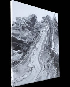Fluid Abstract Original Painting on Canvas Contemporary