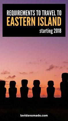 Requirements to travel to Easter Island, Chile Lanai Island, Big Island Hawaii, Island Beach, Fiji Travel, Hawaii Travel, Tonga, Easter Island Travel, Jamaica Vacation, Hawaii Honeymoon