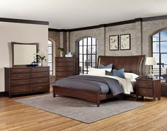 Commentary Queen Bedroom Group by Vaughan Bassett