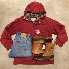 Come get your stormy weather gear! 80's L.L. Bean parka, men's XS/S, $56+$16 domestic shipping. Levi's 501s, size 30/30, $52+$16 domestic shipping. L.L. Bean Maine Hunting Shoe, men's 7 women's 9, $42+$16 domestic shipping. Call 415-796-2398 to purchase or PayPal afterlifeboutique@gmail.com and reference item in post.