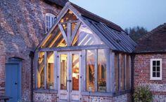 The Green Oak Carpentry Company: Westcourt Farm Conservatory