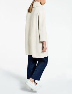 Max Mara MESSI black: Wool coat.
