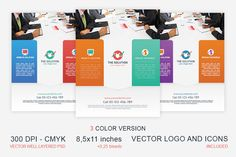 Corporate Business Flyer by Manudesign on Creative Market
