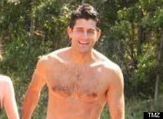 There's Something About A Shirtless Paul Ryan
