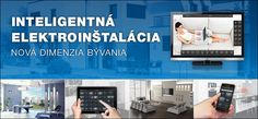iNELS - inteligentná elektroinštalácia pre Váš dom Bus System, Smart Home, Flat Screen, Smart House, Blood Plasma, Flatscreen, Dish Display