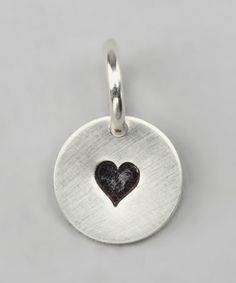 Look what I found on #zulily! Sterling Silver Expressions Heart Charm #zulilyfinds