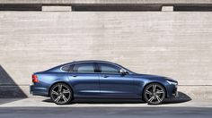 From a far, the 2017 Volvo R-Design is identical to the standard Actually, you can only tell the difference upon a closer look. The exterior upgrad My Dream Car, Dream Cars, Volvo S90, Volvo Cars, Car Wheels, Car And Driver, Automotive Design, Car Car, Cool Cars