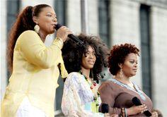 Queen Latifah x Erykah Badu x Jill Scott