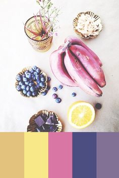 Color Study 67 | Pinegate Road #purplebanana