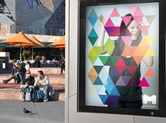 City of Melbourne, example of how cities and public places can brand their spaces and ads.