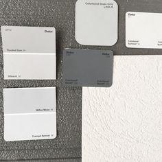 "83 Likes, 10 Comments - Tash Bell Renovation (@homeofmarbleandmint) on Instagram: ""External colours - Parchment/surfmist or grey render is still the question?  #exteriorcolourscheme…"""