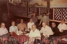 The Last Supper Photo of the Chicago Mafia 1979. The picwas taken at Sicily Restaurant at Harlem and Diversey. The dinner was before dinning hours and exclusively to these men only.