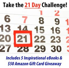 5 free books and win a $50 Amazon gift card