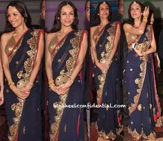 Malaika Arora Khan carried Malaga's Invitage clutch at Riteish and Genelia's sangeet!