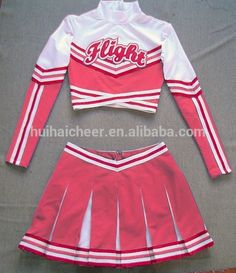 Source long sleeve cheerleader uniforms on m.alibaba.com School Uniform Outfits, Cheer Outfits, Dance Outfits, Cute Casual Outfits, Sport Outfits, Girl Outfits, Fashion Outfits, Cheerleader Halloween Costume, Cheer Costumes