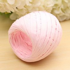 Ac2Shop 20m Color Raffia Paper Ribbon Decorating Flower Gift Craft Scrapbook Wrapping, Pink *** Learn more by visiting the image link.