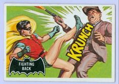 1966 Batman Black Bat Card No.30 Fighting Back   Flickr - Photo Sharing!