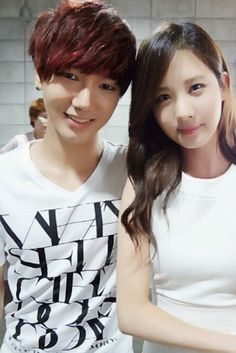 SNSD Seohyun with SuperJunior's Yesung