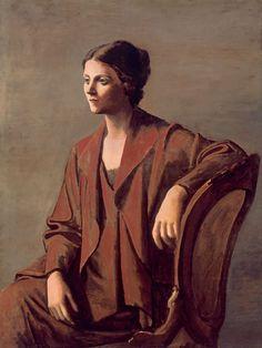 Pablo Picasso, Olga Picasso, 1923.
