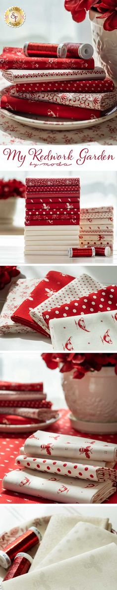 Merry Christmas Squares Polka Dot Festive Favourites 100/% Cotton Fabric