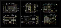 Master bedroom design CAD blocks - CADblocksfree -CAD blocks free
