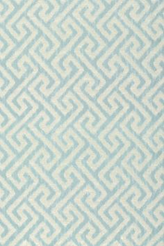 MALAY IKAT, Turquoise, W98689, Collection Shangri-La from Thibaut 14x14 repeat. Photo available at Thibaut.