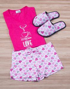 Modelo JMS0127 Pijama Mujer Woman Sleepwear
