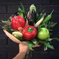 """вкусные букеты """"VERYBERRY"""" в Instagram: «Стой! Остановись! Задумайся, дорогой друг) Как прекрасен этот мир, сколько замечательного вокруг 💫 Не спеши, не суетись) Растягивай и…» Vegetables, Food, Essen, Vegetable Recipes, Meals, Yemek, Veggies, Eten"""