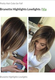 Natural blended balayage on dark hair Love Hair, Gorgeous Hair, Great Hair, Hair Color And Cut, Hair Colour, Blonde Color, Blonde Shades, Hair Photo, Hair Day