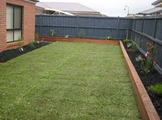 decking as garden edging - Google Search