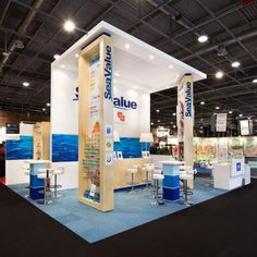 High Level Logos = Good brand visibility! #exhibition #tradeshow #stand