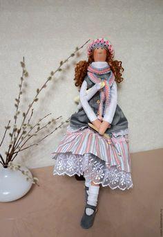 Купить Кукла тильда Люся (повтор) в интернет магазине на Ярмарке Мастеров
