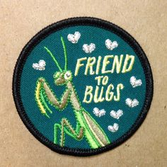 2.5 Round Iron-On Embroidered Patch -Its like a merit badge for being a rad human.