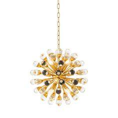 EICHHOLTZ Chandelier Antares S gold bei Villatmo.de - Villatmo-Shop - VILLATMO - Designer Möbel, Lampen & Accessoires