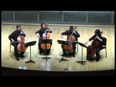 Bach Chaconne for Four Cellos - YouTube
