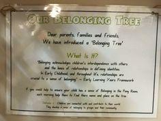 Belonging tree sign