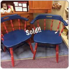 Marine Blue with Betsy Ross Red and Brown Bronze Shimmer Glaze Furniture Redo, Painted Furniture, Marine Blue, Countertops, Glaze, Dining Chairs, Shabby, Bronze, Mom