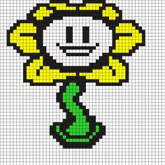 Flowey Undertale Perler Bead Pattern
