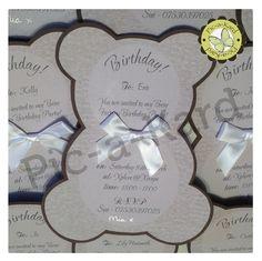 Teddy Bear Invitations