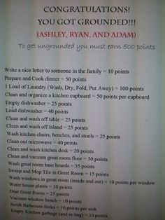 Genius! These parents definitely showed their kids who's boss...