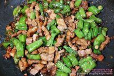 삼겹살요리 먹을수록 중독되는 백종원 삼겹살볶음 : 네이버 블로그 Authentic Korean Food, Asian Recipes, Ethnic Recipes, Kung Pao Chicken, Green Beans, Vegetables, Health, Healthy Groceries, Food Food